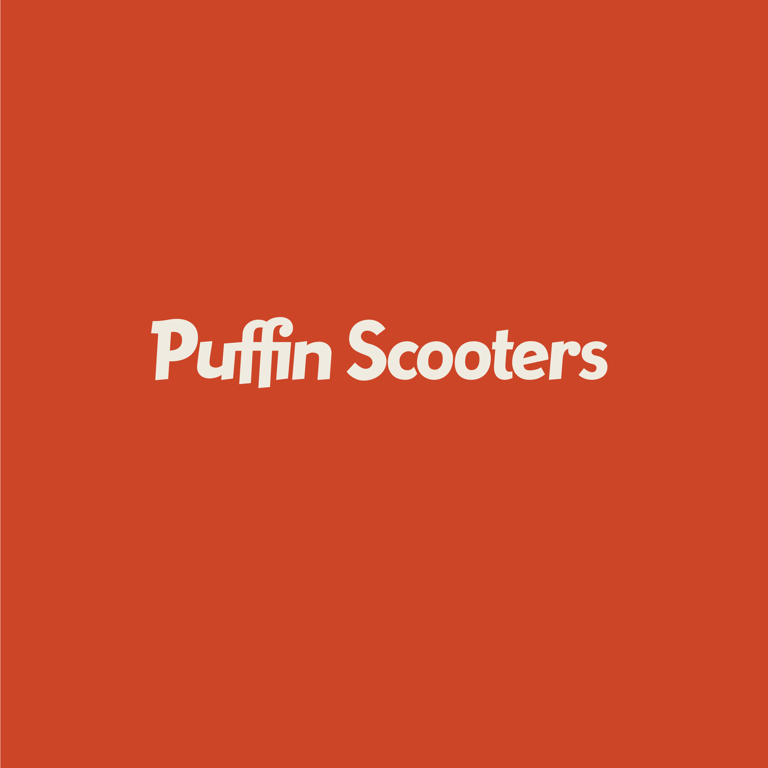 Puffin Scooters logo